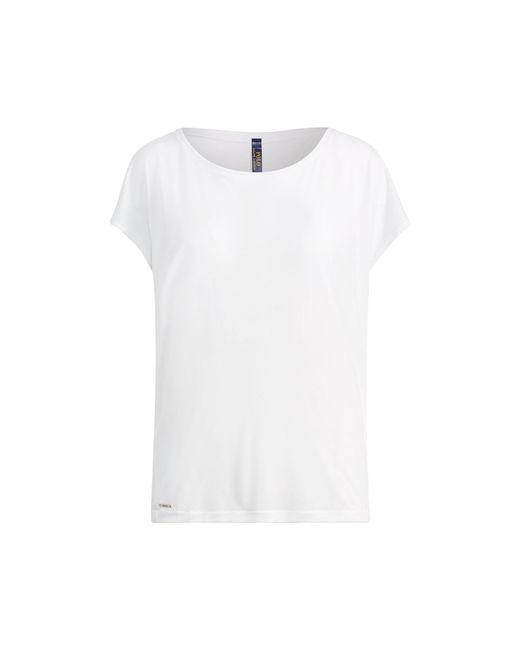 Polo Ralph Lauren | White Drapey Jersey T-shirt | Lyst