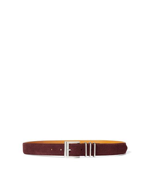 Ralph Lauren | Multicolor Triple-keeper Suede Belt | Lyst