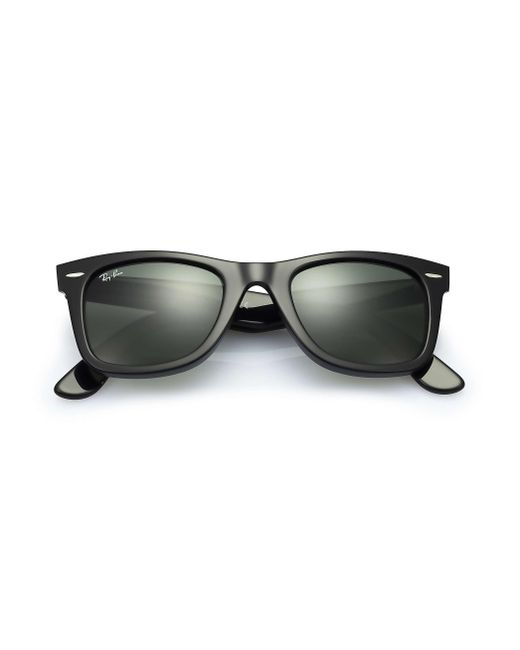 11ea0c49331 ... Ray-Ban - Black Original Wayfarer Classic 0rb2140 Sunglasses - Lyst ...
