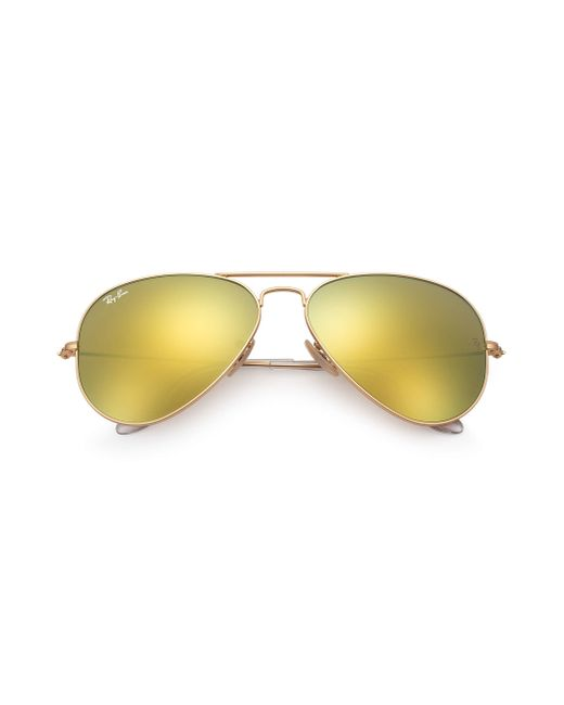 6f93eec1c7b Ray Ban Aviator Flash Lenses Yellow « Heritage Malta