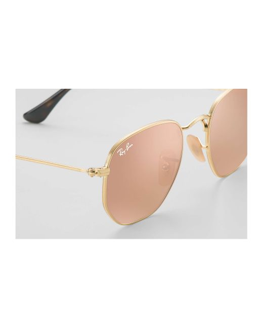 04658a5885 Ray Ban Hexagonal Flat Lenses Large - Bitterroot Public Library