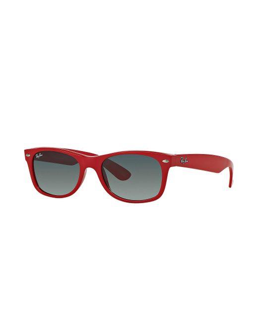 Ray-Ban - New Wayfarer Color Splash Red - Lyst
