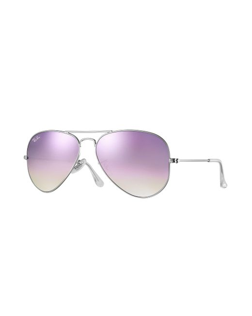 Ray-Ban - Multicolor Aviator Flash Lenses Gradient - Lyst