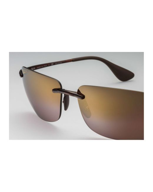 ade1ea853c ... Ray-Ban - Brown Rb4255 Chromance for Men - Lyst ...