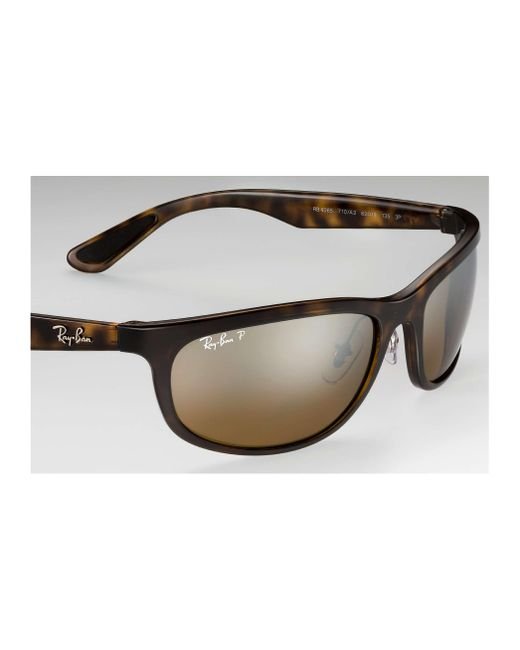 63427ff6e4 ... Ray-Ban - Brown Rb4265 Chromance for Men - Lyst ...