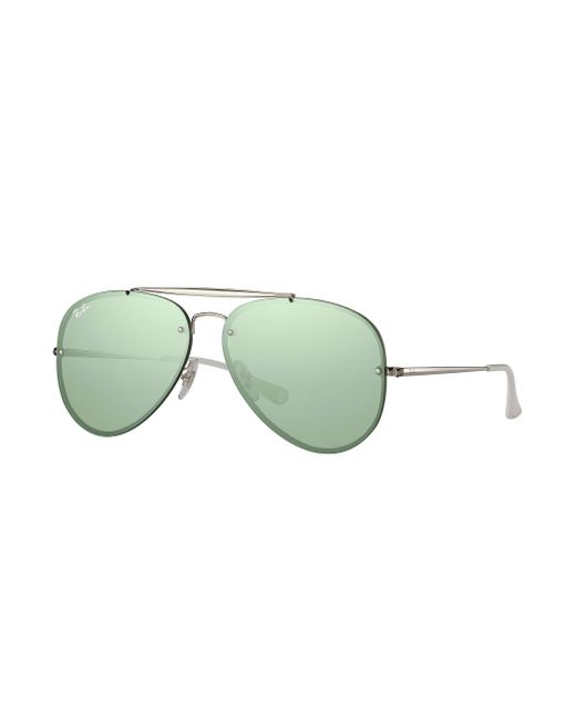 bc2ee5fb33e Ray-Ban - Green Blaze Aviator for Men - Lyst ...