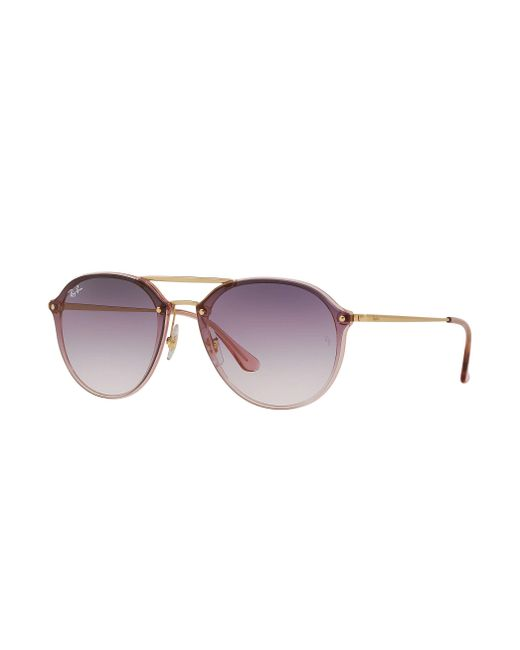 9e02b4dfa1d Ray-Ban - Multicolor Blaze Double Bridge for Men - Lyst