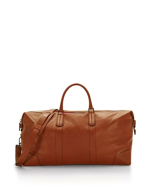 Rebecca Minkoff | Brown Wythe Weekender Leather Bag | Lyst