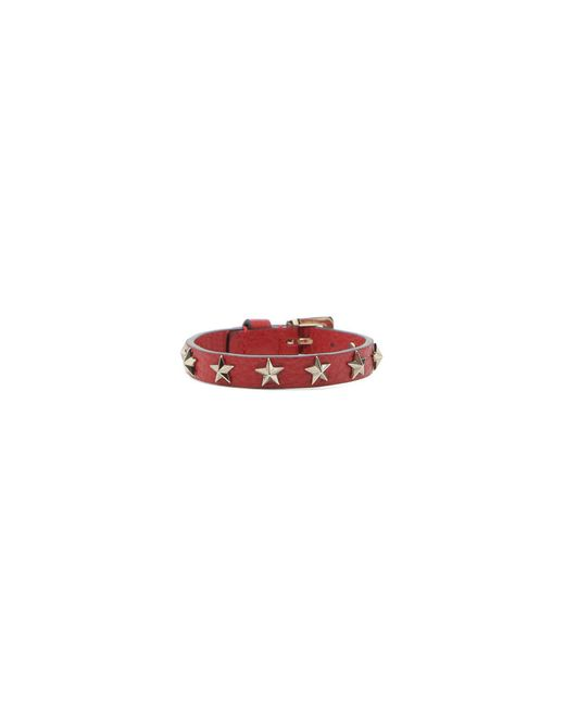 RED Valentino | Red Bracelet With Stars | Lyst