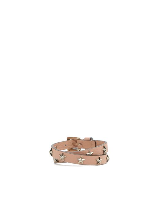 RED Valentino | Pink Bracelet With Stars | Lyst