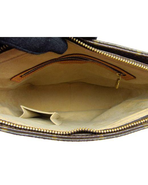 e83bfdd7f6cc Lyst - Louis Vuitton Monogram Looping Gm Shoulder Bag M51145 in Brown