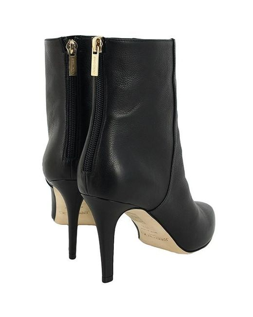 570feee97c42 ... Jimmy Choo - Ankle Bootie Calf-leather Black 38 Size Boots Women - Lyst  ...