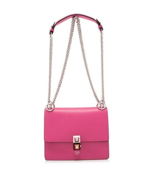 Fendi - Pink Kan I Small Bag - Lyst