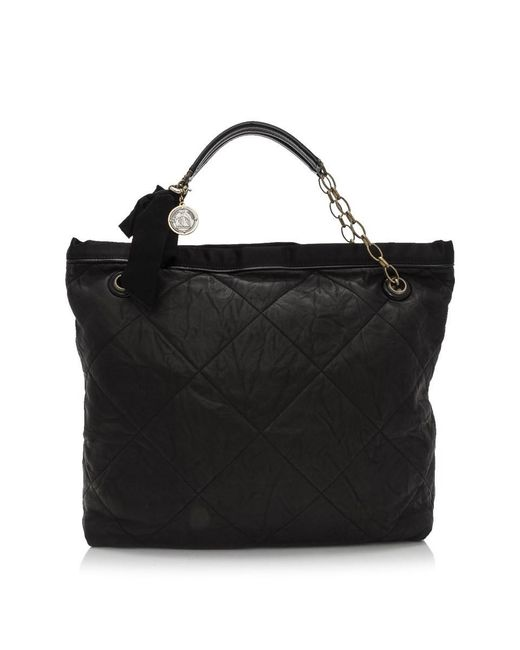 Lanvin Pre-owned - Amalia leather handbag Kood9ci