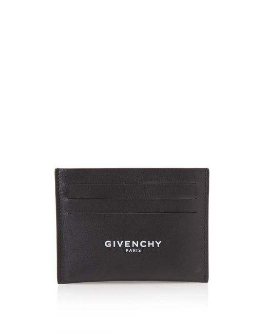 Givenchy - Black Billfold 6 Cc Card Holder for Men - Lyst