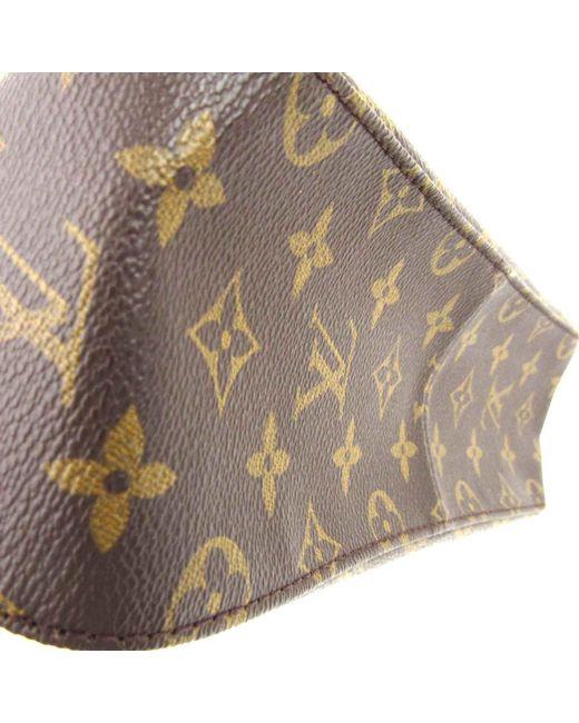 3fed24d83dbde ... Louis Vuitton - Brown Authentic Mini Looping Flap Shoulder Bag Monogram  Canvas M51147 - Lyst ...