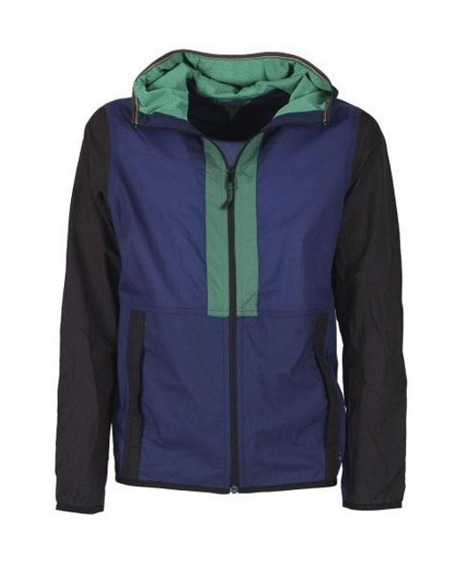 Paul Smith - Blue Fantasy Short Coat for Men - Lyst