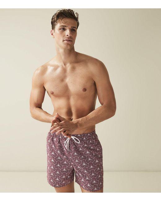 c78b7a406b764 ... Reiss - Multicolor Disco - Printed Swim Shorts for Men - Lyst ...