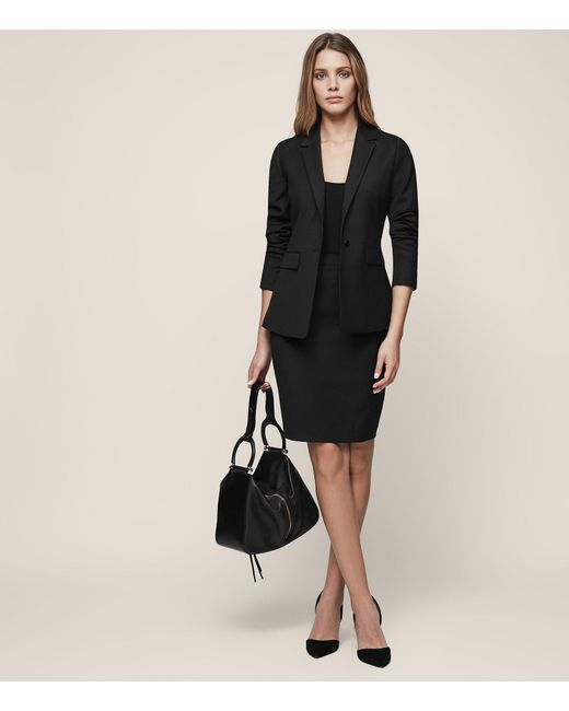 Reiss - Black Huxley Skirt - Lyst