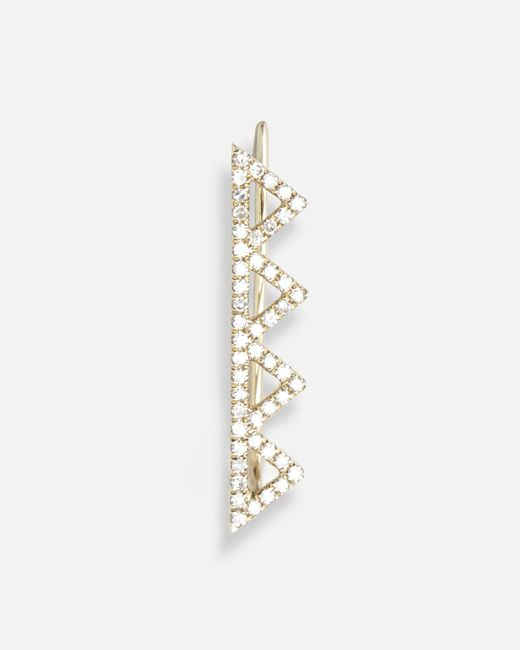 EF Collection | Multicolor Multi Open Triangle Left Ear Cuff | Lyst