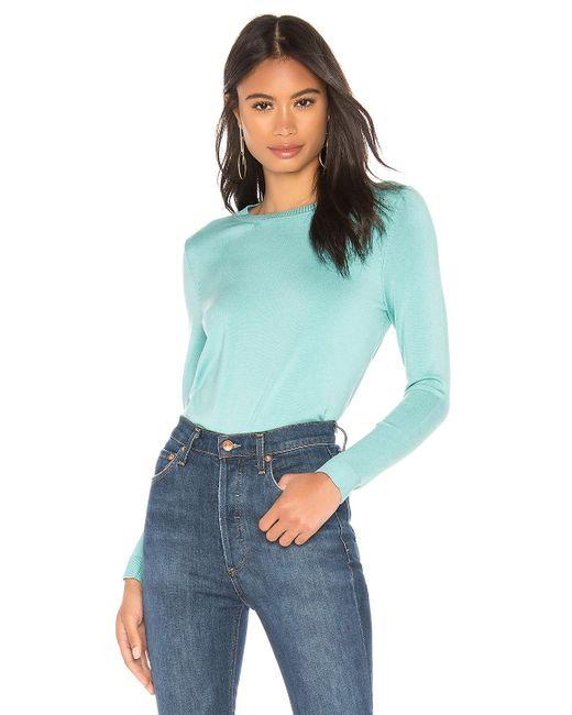 a4d0c79201 525 America - Blue Classic Crew Neck Sweater - Lyst ...