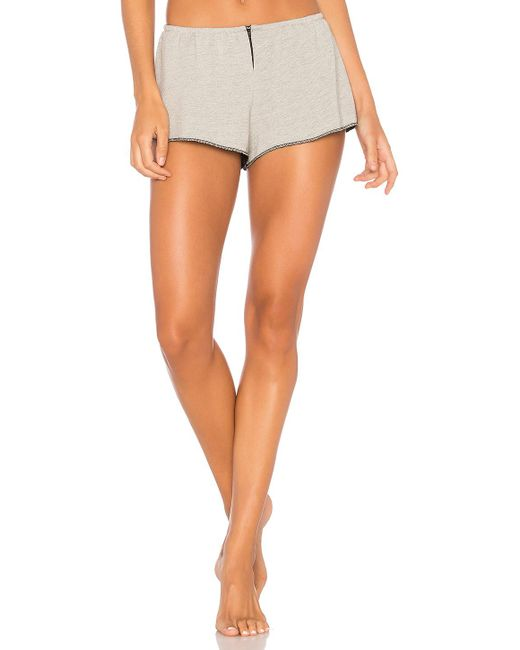 Only Hearts | Gray French Terry Sleep Shorts | Lyst