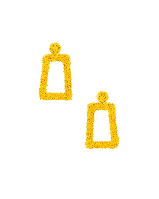 Sachin & Babi - Fleur Dusk Earrings In Yellow. - Lyst