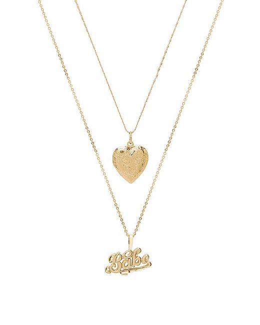 Vanessa Mooney - X Revolve Babe Necklace In Metallic Gold. - Lyst