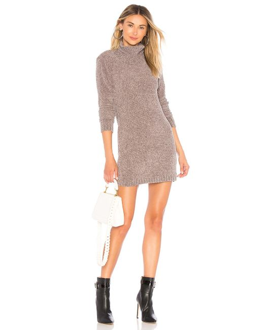 Lovers + Friends - Gray Colby Dress - Lyst