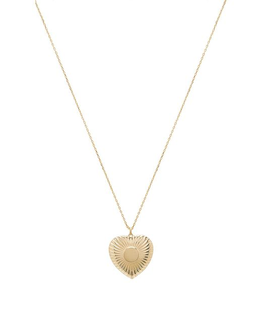 Natalie B. Jewelry - Utopian Necklace In Metallic Gold. - Lyst