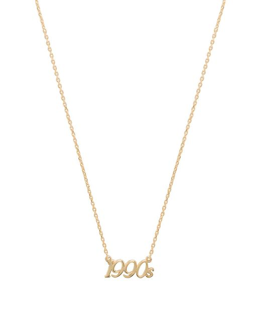 Natalie B. Jewelry - X Revolve 1990's Charm Necklace In Metallic Gold. - Lyst