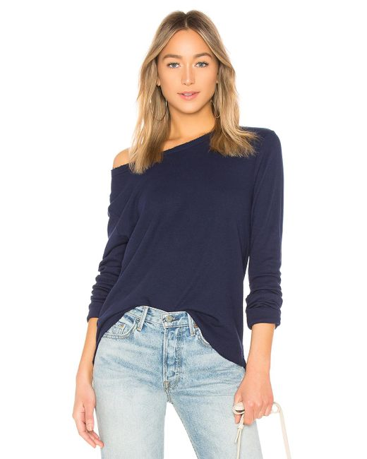 Lamade - Blue Asher Pullover In Navy - Lyst