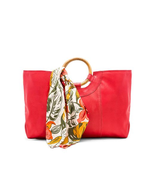 Cleobella - Red Jackson Tote In Coral. - Lyst