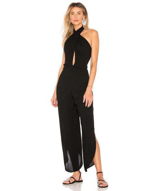 019b34570e25 Indah - Black Pearl Jumpsuit - Lyst ...