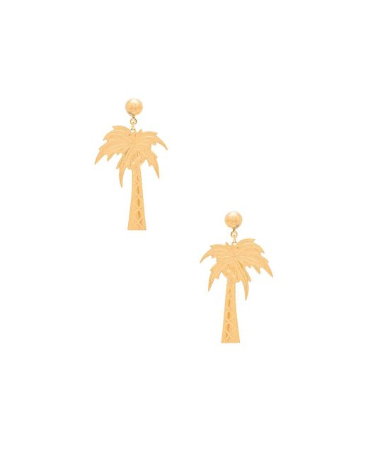 Frasier Sterling | Metallic Palm Beach Earrings | Lyst