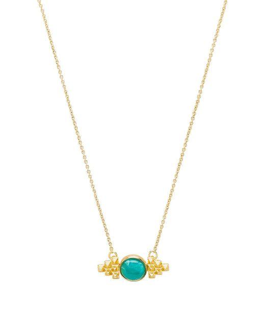 House of Harlow 1960 - Metallic X Revolve Nuri Pendant Necklace - Lyst