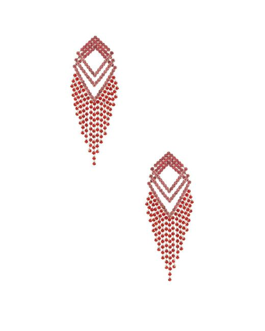 Amber Sceats - Multicolor X Revolve Angela Earrings In Red. - Lyst