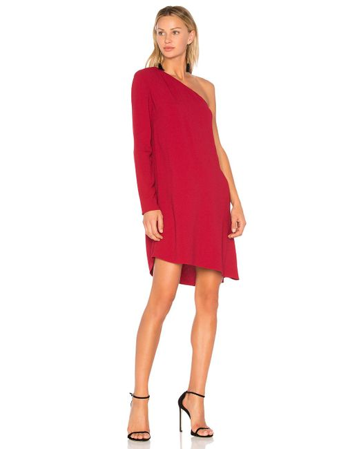 Theory | Red Sintsi Dress | Lyst