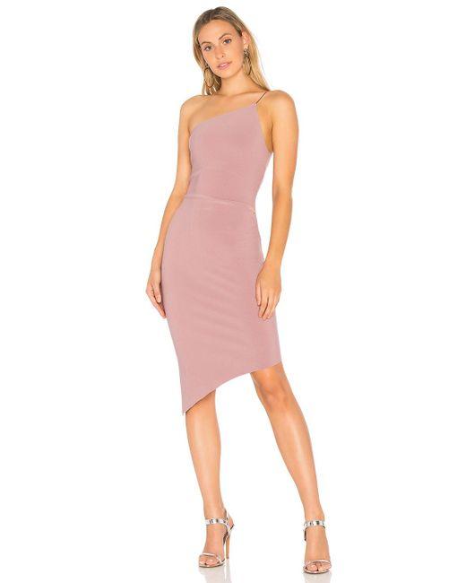 Bec & Bridge | Pink Luxul Asymmetrical Dress | Lyst