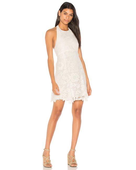 Alice + Olivia | White Susan Dress | Lyst