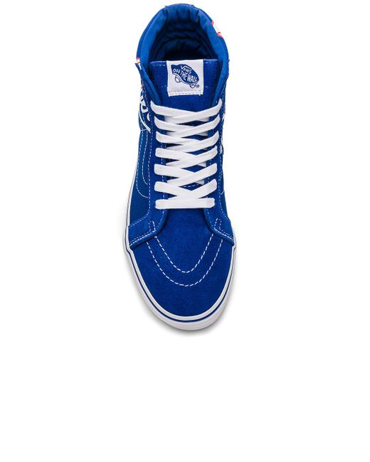 e414b07a5b ... Vans - Blue Sk8-hi Reissue Dodgers for Men - Lyst ...