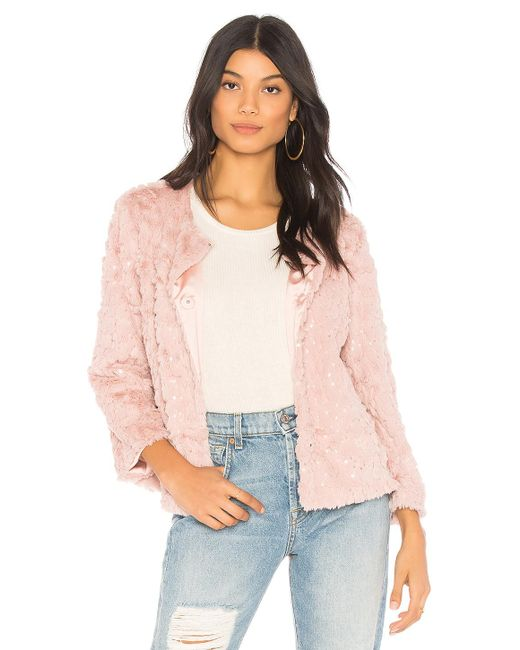Sanctuary - Chubby Jacket In Pink - Lyst