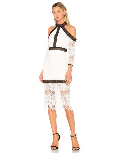 Alexis - White Marlowe Dress - Lyst