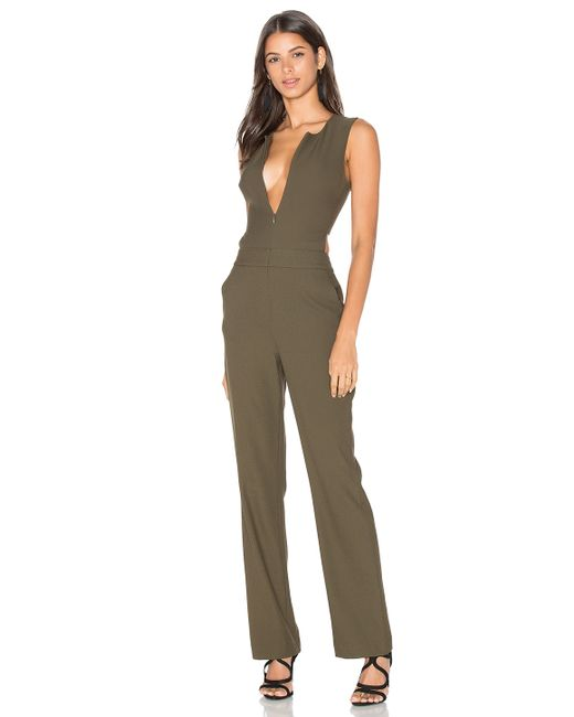 Bobi Black Woven Crepe Sleeveless Side Cut Out Jumpsuit In