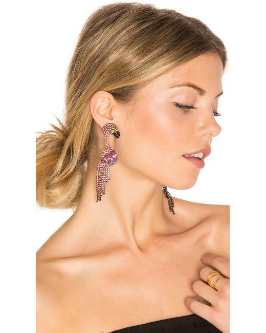 Elizabeth Cole | Multicolor Georgy Earrings | Lyst