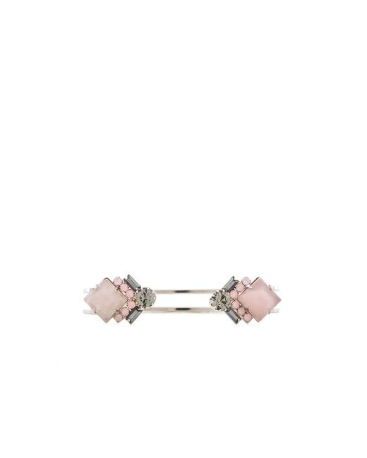 Elizabeth Cole | Pink Kelsey Bracelet | Lyst