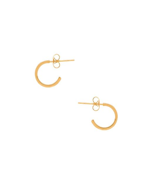 Gorjana | Metallic Taner Mini Hoop Earrings | Lyst