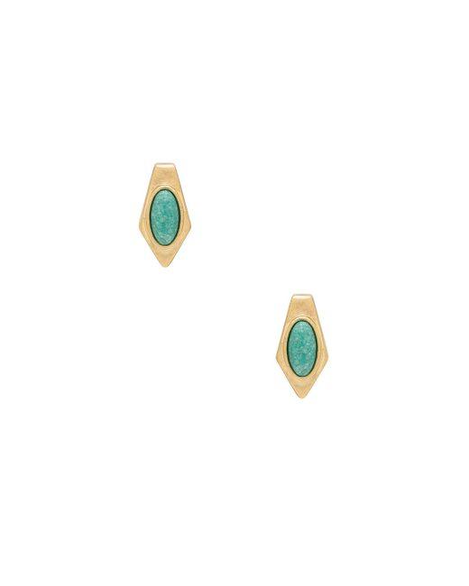 House of Harlow 1960 | Metallic Valda Stud Earrings | Lyst