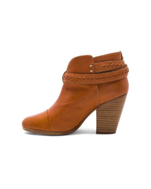 rag bone harrow boot in brown lyst