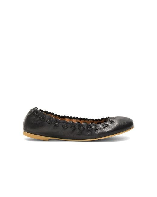 See By Chloé | Black Ballet Flat | Lyst